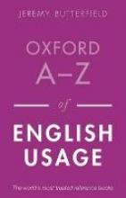 Butterfield, Jeremy Oxford A-Z of English Usage