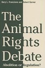 Francione, Gary The Animal Rights Debate