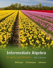 Marvin L. Bittinger,   David J. Ellenbogen,   Barbara L. Johnson Intermediate Algebra
