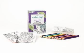 Running Press The Calming Coloring Kit