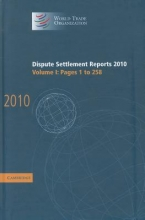 World Trade Organization Dispute Settlement Reports, Volume 1