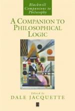 Jacquette, Dale A Companion to Philosophical Logic