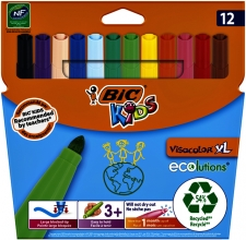 , Kleurstift Bic Kids Ecolutions Visacolor XL ass