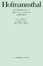 Operndichtungen III/1. Die Frau ohne Schatten Danae oder die Vernunftheirat
