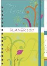 Planer Floral 2017. Familientimer-Buch