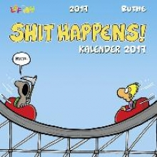 Ruthe, Ralph Shit happens Postkartenkalender 2017