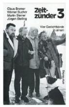 Bremer, Claus Zeitzünder. Drei Gedichtbände in einem