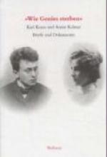 Kraus, Karl ` Wie Genies sterben`