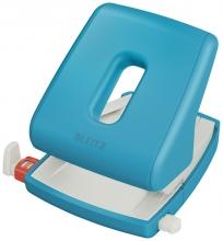 , Perforator Leitz Cosy 2-gaats 30vel blauw