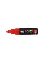 , Verfstift Posca PC7M rood