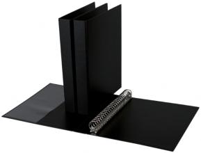 , Ringband Quantore A4 23-rings D-mech 27mm PP zwart