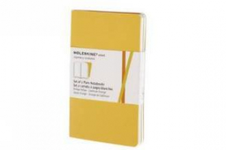 Moleskine Plain Volant Pocket Golden Yellow Cover