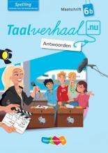 Hetty van den Berg, Tamara van den Berg, Jannie van Driel-Copper, Irene  Engelbertink Spelling 6b Antwoorden maatschrift