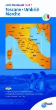 ANWB , ANWB wegenkaart Italië 7. Toscane,Umbrië,Marche