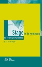 H.J. van der Bruggen , Stage in de verpleging