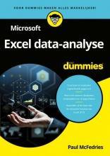 Paul McFedries , Microsoft Excel data-analyse voor Dummies