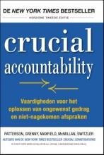 Al Switzler Kerry Patterson  Joseph Grenny  David Maxfield  Ron McMillan, Crucial accountability
