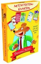 Geronimo  Stilton Activiteitenkaarten van Geronimo Stilton (2 sets)