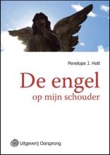Penelope J.  Holt Engel op mijn schouder  - grote letter uitgave
