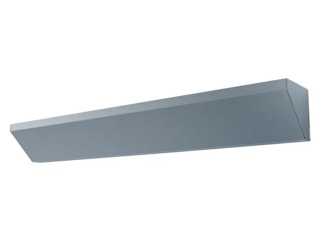 ,hoekelement Sigel akoestiek donkergrijs, 1200x150x150 mm