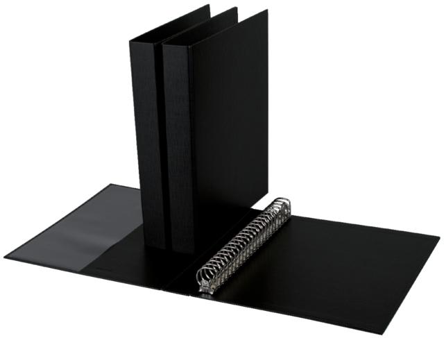 ,Ringband Quantore A4 23-rings D-mech 27mm PP zwart
