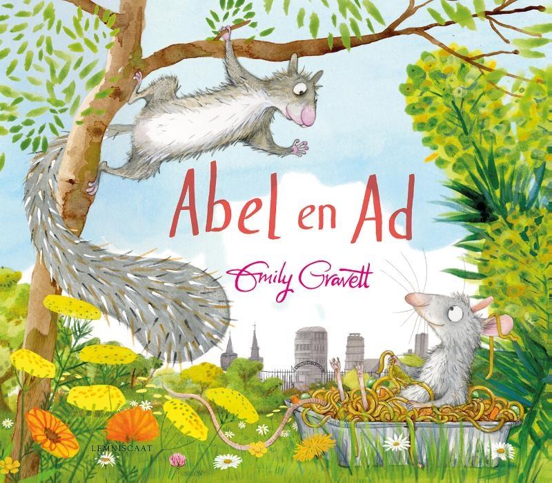 Emily Gravett,Abel en Ad