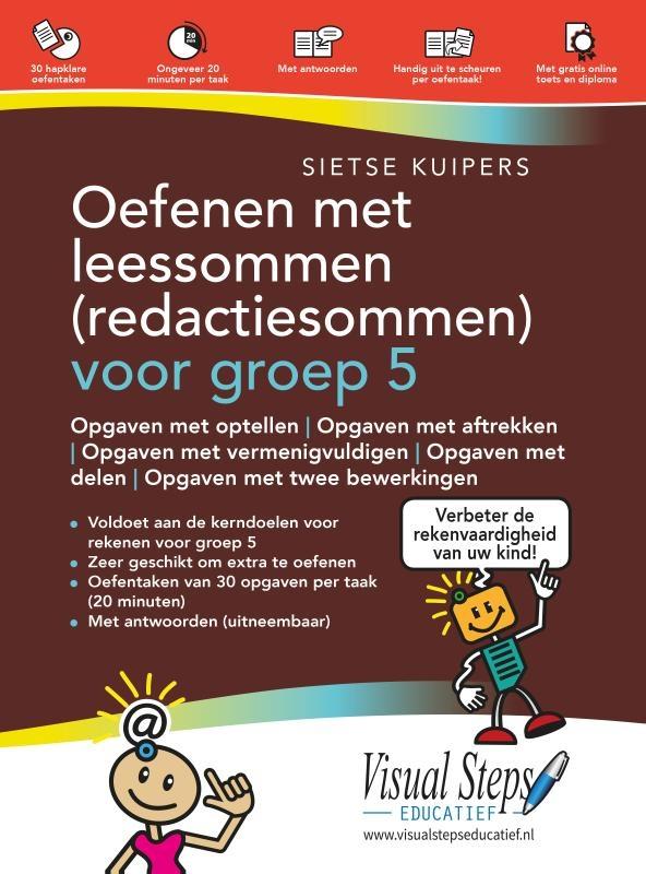 Sietse Kuipers,Oefenen met leessommen (redactiesommen) voor groep 5