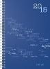 ,rido Buchkalender 2019 futura 2 Agenda Wire-O schwarz