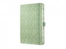 ,notitieboek Sigel Jolie Beauty A5 hardcover gelinieerd groen