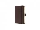 ,notitieboek Sigel Conceptum Pure hardcover A6 bruin         gelinieerd