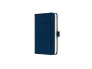 ,notitieboek Sigel Conceptum Pure hardcover A6 donkerblauw   geruit
