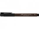 Fc-167475 ,Faber Castell Tekenstift Pitt Artist Pen Brush Dark Sepia 175