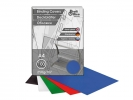 ,schutbladen ProfiOffice A4 250gr karton 100 stuks glossy    blauw