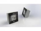 ,alarmklok NeXtime 7,4x4x7,4cm metaal, zwart, `Turn4Time`