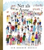 Uggbert,Net als Anne, gouden boekje, Uggbert, illustraties Ingrid Robers. Anne Frank