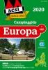 ACSI ,ACSI Campinggids Europa + app 2020