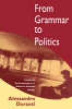 Alessandro Duranti From Grammar to Politics