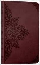 Collins Anglicised ESV Bibles Holy Bible: English Standard Version (ESV) Anglicised Chestnut Ornamental Thinline edition