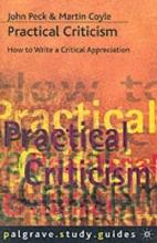 John Peck,   Martin Coyle Practical Criticism