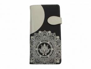, Portemonnee met magneetsluiting 19x10 cm fantasy creme