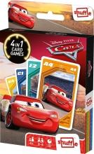 , Shuffle- cars- 4 in 1 kaartspel
