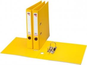 , Ordner Quantore A4 50mm PP geel