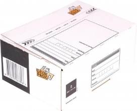 , Postpakketbox 2 CleverPack 200x140x80mm wit 25stuks