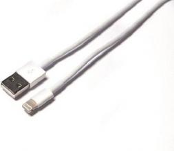 , Kabel Green Mouse USB Lightning-A 1 meter wit