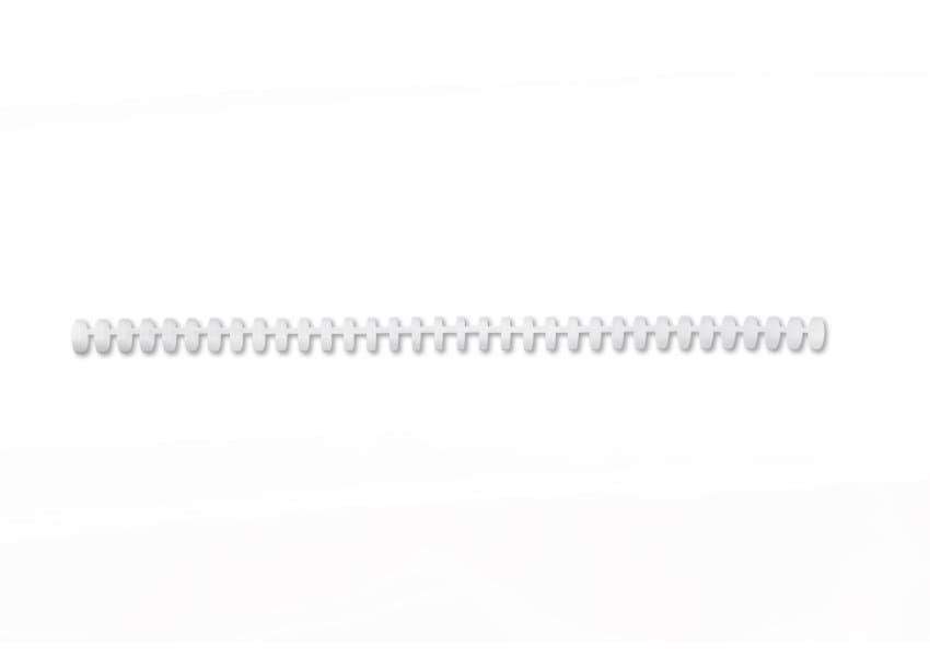,Bindrug GBC Click 34R 12mm wit 50stuks