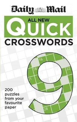 Daily Mail,Daily Mail All New Quick Crosswords 9