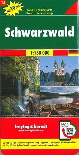 ,Schwarzwald, Autokarte 1:150.000, Top 10 Tips, Blatt 15