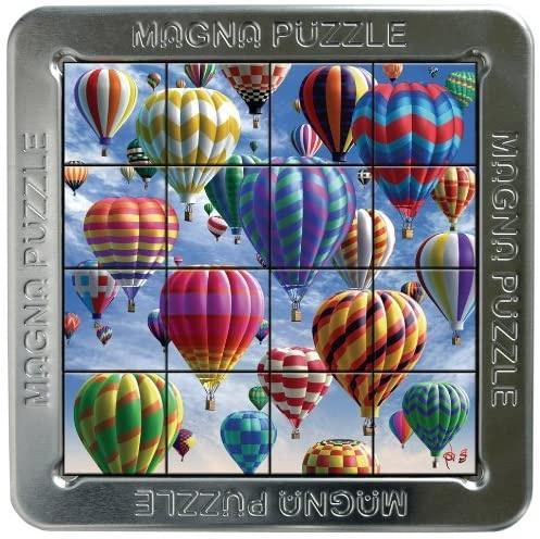 Tff-021157,Puzzel 3d magna balloons 16 stuks
