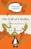 <b>Phillips Lovecraft</b>,Penguin Orange Collection Call of Cthulhu and Other Weird Stories