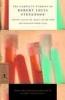 Stevenson, Robert Louis,   Menikoff, Barry, The Complete Stories of Robert Louis Stevenson